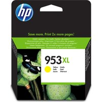 HP 953XL Yellow Ink Cartridge, Yellow