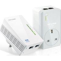 TP-LINK TL-WPA4226 AV600 Wireless Powerline Adapter Kit - Twin Pack