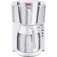 MELITTA Look IV Therm Timer Filter Coffee Machine - White and Stainless Steel, Stainless Steel