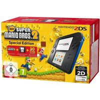 NINTENDO 2DS & Super Mario Bros. 2 - Blue & Black, Blue