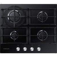 Samsung Na64h3010ak/eu Gas Hob - Black, Black at Currys Electrical Store