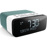 PURE Siesta Rise S DAB+/FM Bluetooth Clock Radio - Mint