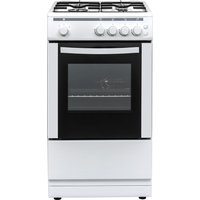 ESSENTIALS CFSGWH18 50 cm Gas Cooker - White, White