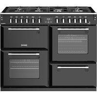 STOVES Richmond S1100DF 110 cm Dual Fuel Range Cooker - Black, Black