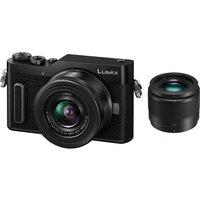 PANASONIC Lumix DC-GX880 Mirrorless Camera with G Vario 12-32 mm f/3.5-5.6 Asph. Mega O.I.S. & 25 mm f/1.7 Asph. Lens - Black, Black