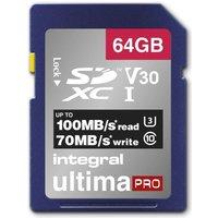 INTEGRAL V30 Class 10 SD Memory Card - 64 GB