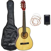 3RD AVENUE STX20 1/4 Size Classical Guitar Bundle - Natural