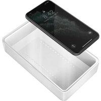 ENERGEA Stera360 UV Sanitizing Box and Wireless Charger - White, White