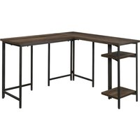 TEKNIK Industrial L-Shaped Desk.