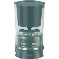 LOGIK L10DCG21 Filter Coffee Machine - Grey, Grey