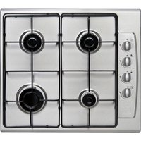 ESSENTIALS CGHOBX21 Gas Hob - Stainless Steel, Stainless Steel
