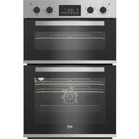 BEKO BBXDF22300S Electric Double Oven - Silver, Silver