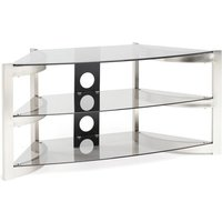 Techlink Skala Sk100tc Tv Stand, Brushed Titanium