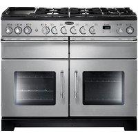 RANGEMASTER Excel 110 Dual Fuel Range Cooker - Stainless Steel & Chrome, Stainless Steel