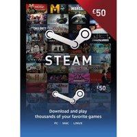 STEAM Steam Wallet Card - 50