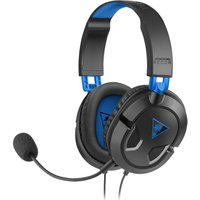 TURTLE BEACH Earforce Recon 50p 2.0 Gaming Headset - Black & Blue, Black