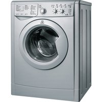 INDESIT  IWDC 6125S Washer Dryer - Silver, Silver