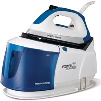 MORPHY RICHARDS Power Steam Elite 332010 Steam Generator Iron - White & Blue, White