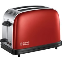 Buy RUSSELL HOBBS Colours Plus 23330 2-Slice Toaster - Red, Red - Currys PC World