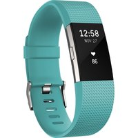FITBIT Charge 2 - Teal, Small, Teal