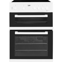 BEKO KDC611W 60 cm Electric Ceramic Cooker - White, White