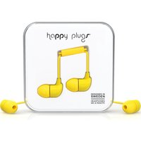 HAPPY PLUGS Headphones - Yellow, Yellow