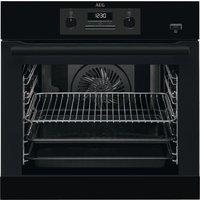 AEG BEB351010B Electric Steam Oven - Black, Black