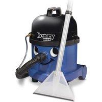 Numatic Henry Wash Hwv 370 Cylinder Wet & Dry Vacuum Cleaner - Blue, Blue