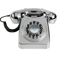 Click to view product details and reviews for Wild Wolf Wild Wolf 746 Brushed Chrome Corded Phone.
