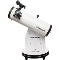MEADE Lightbridge Mini 114 Reflector Telescope - White, White