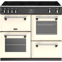 STOVES Richmond S1000Ei 100 cm Electric Induction Range Cooker - Cream, Cream