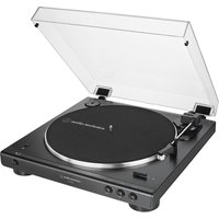 AUDIO TECHNICA AT-LP60XBT Belt-Drive Bluetooth Turntable - Black, Black