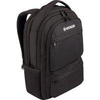 """WENGER Fuse 15.6"""" Laptop Backpack - Black, Black"""