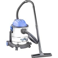 HYUNDAI HYVI2012 Cylinder Wet & Dry Vacuum Cleaner - Silver & Blue, Silver