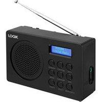 'Logik L2dab16 Portable Dab/fm Radio - Black