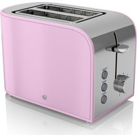 Buy SWAN Retro ST17020PN 2-Slice Toaster - Pink, Pink - Currys