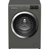 BEKO WY84244G 8 kg 1400 Spin Washing Machine - Grey, Grey