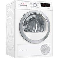 BOSCH Serie 4 WTM85230GB 8 kg Condensor Tumble Dryer - White, White