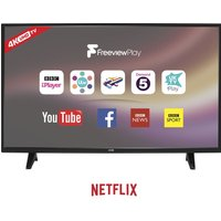 "55"" LOGIK L55UE18  Smart 4K Ultra HD TV, Gold"