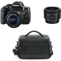 CANON EOS 750D DSLR Camera, Lenses & Camera Bag Bundle