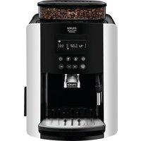 KRUPS Arabica Digital EA817840 Bean to Cup Coffee Machine - Silver, Silver