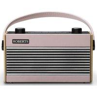 Roberts Rambler Portable Dabﱓ Retro Radio - Pink, Pink