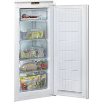 Aquarius U 12 A1 D.UK/H.1 Integrated Tall Freezer - Sliding Hinge, Cream