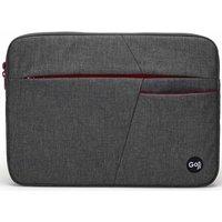 "GOJI G14SBUG20 14"" Laptop Sleeve - Grey & Red, Grey"