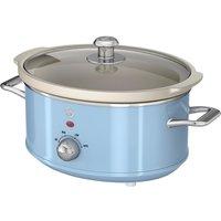 SWAN Retro SF17021BLN Slow Cooker - Blue, Blue