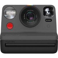 POLAROID Now Instant Camera - Black, Black