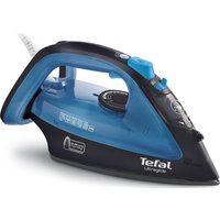 TEFAL Ultraglide FV4043 Steam Iron - Black & Blue, Black