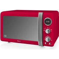 SWAN Retro Digital SM22030RN Solo Microwave - Red, Red