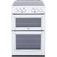 BELLING Enfield E552 55 cm Electric Ceramic Cooker - White, White