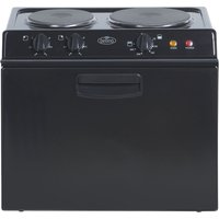 BELLING Baby 121R Electric Tabletop Cooker - Black, Black